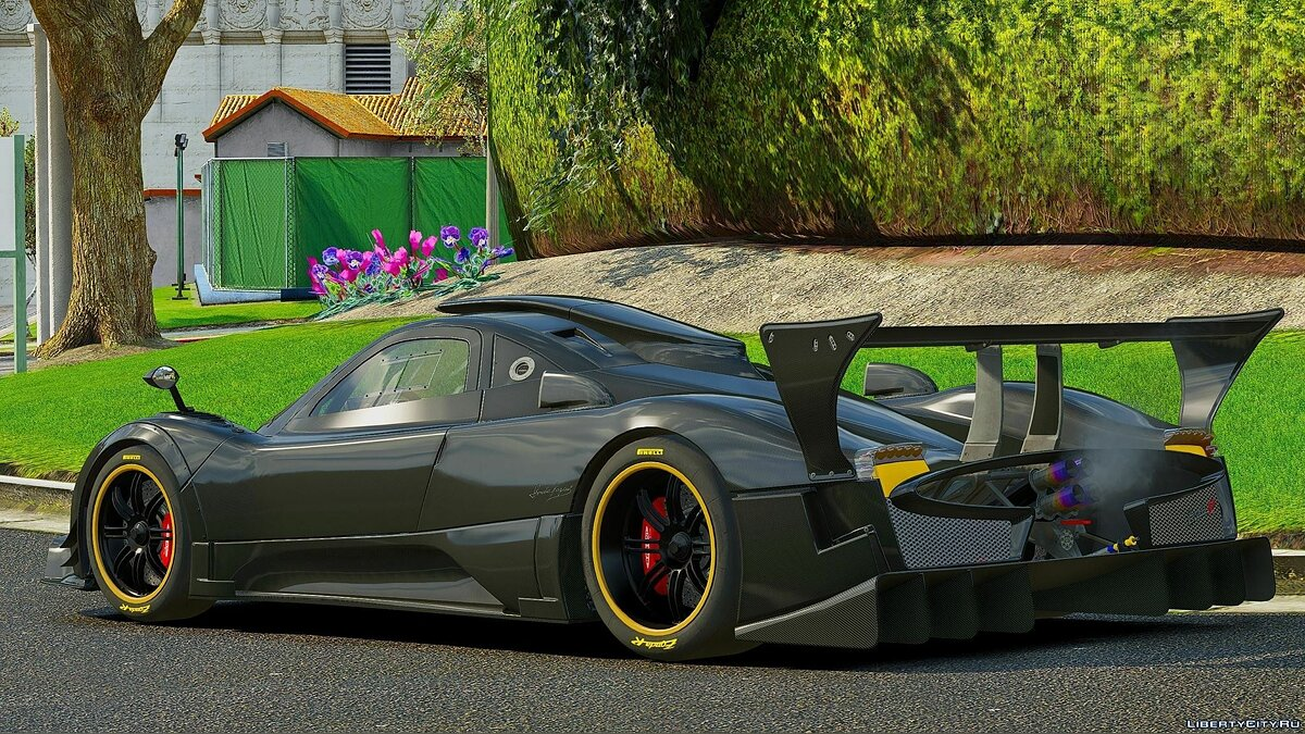 Машина Pagani Pagani Zonda R [Add-On | HQ] 0.2 для GTA 5