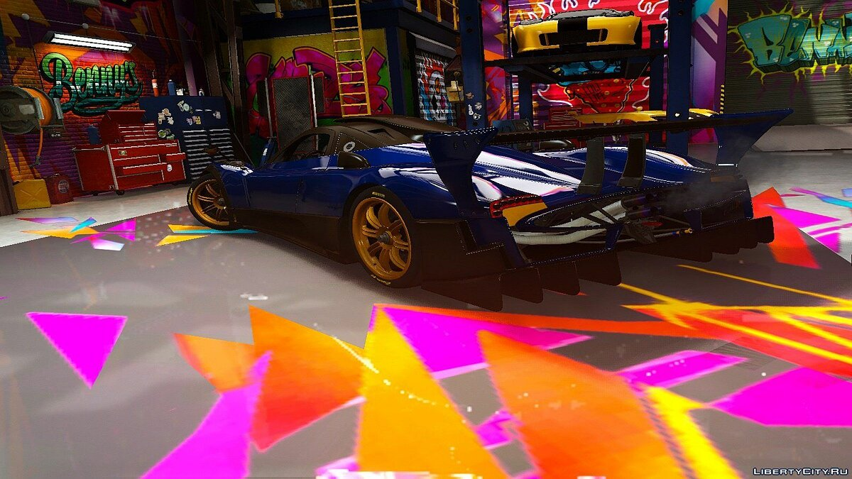 Машина Pagani Pagani Zonda R [Add-On | HQ] для GTA 5