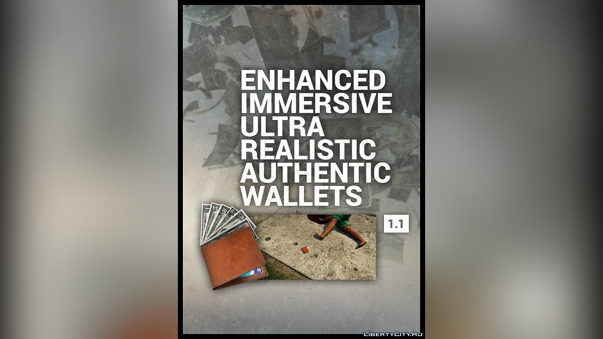 Enhanced Wallets 1.1 для GTA 5 - Картинка #1