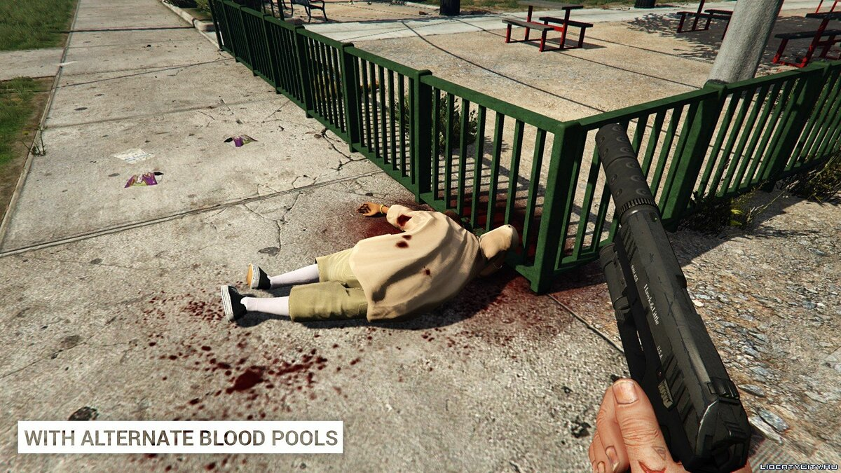 Alternate Blood Pools 1.0 для GTA 5 - Картинка #1
