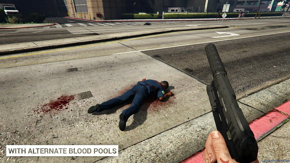 Alternate Blood Pools 1.0 для GTA 5 - Картинка #2