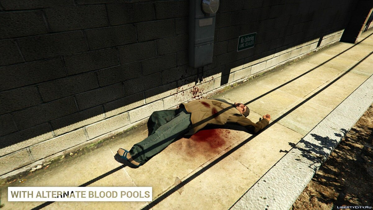 Alternate Blood Pools 1.0 для GTA 5 - Картинка #3