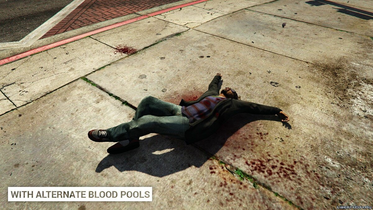 Alternate Blood Pools 1.0 для GTA 5 - Картинка #4
