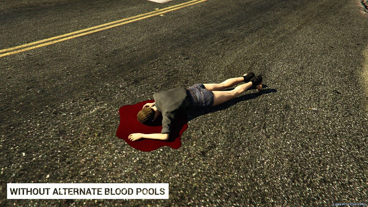 Alternate Blood Pools 1.0 для GTA 5 - Картинка #5