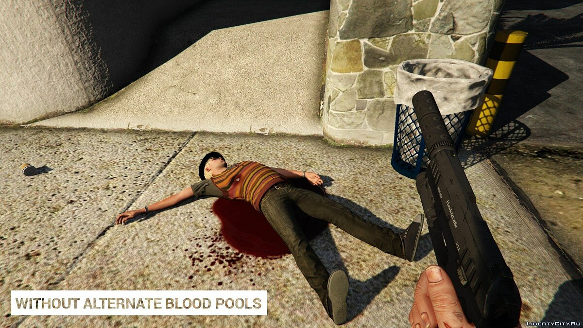 Alternate Blood Pools 1.0 для GTA 5 - Картинка #6