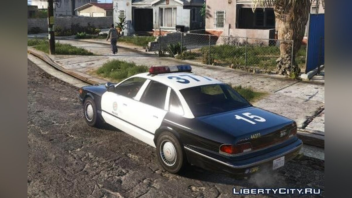 Vapid Police Cruiser Retro [Replace] для GTA 5