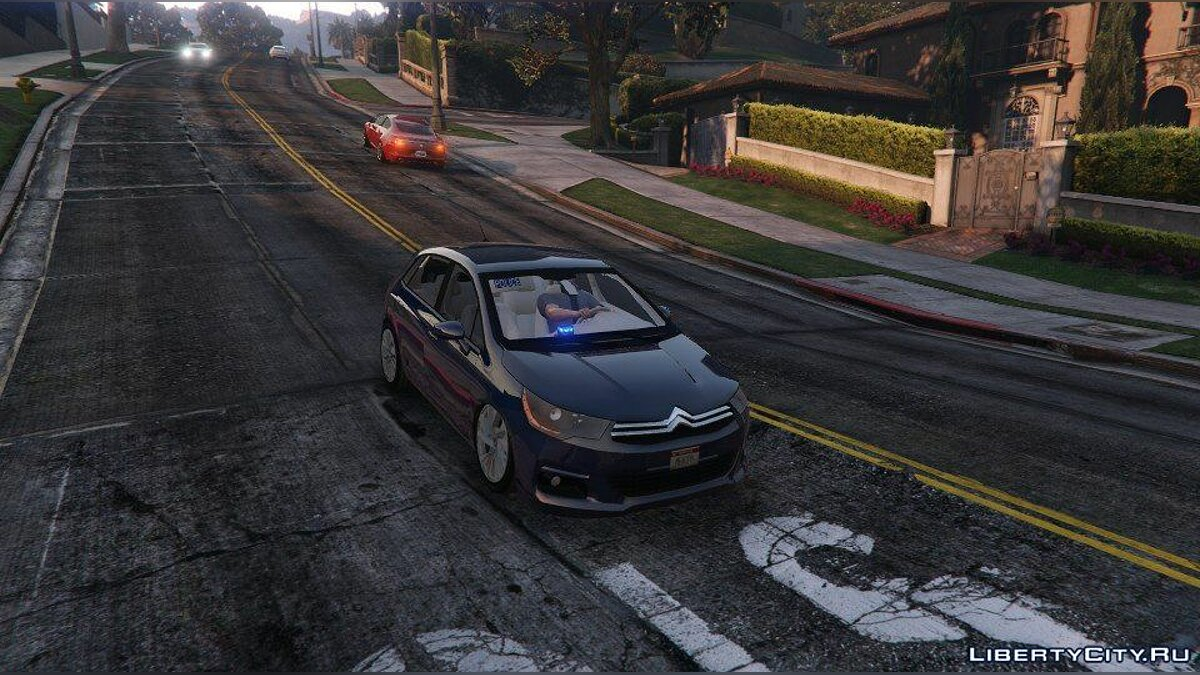 ��ашина Ford Citroën C4 2015 B.A.C [Gyro Tournant LED / ELS] для GTA 5