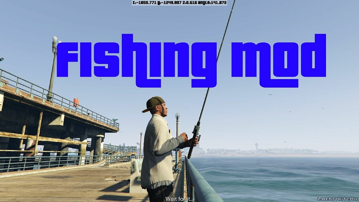 Fishing Mod 0.2.6 BETA для GTA 5 - Картинка #1