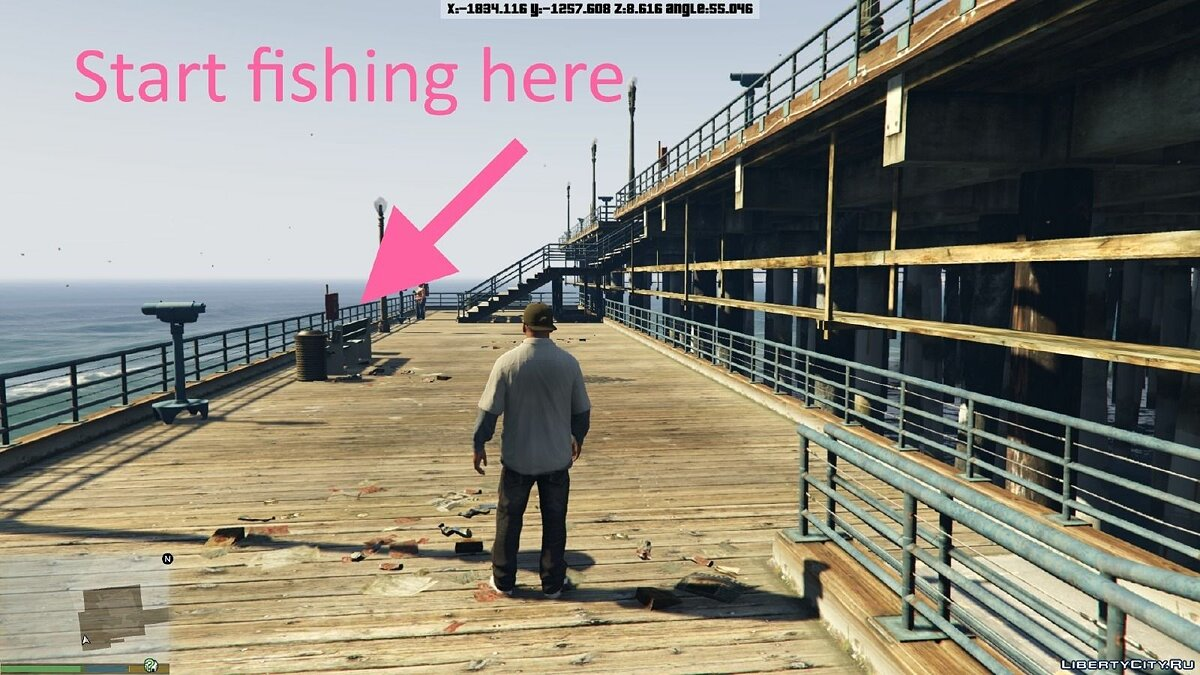 Fishing Mod 0.2.6 BETA для GTA 5 - Картинка #3