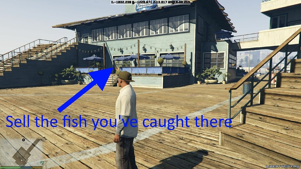 Fishing Mod 0.2.6 BETA для GTA 5 - Картинка #4