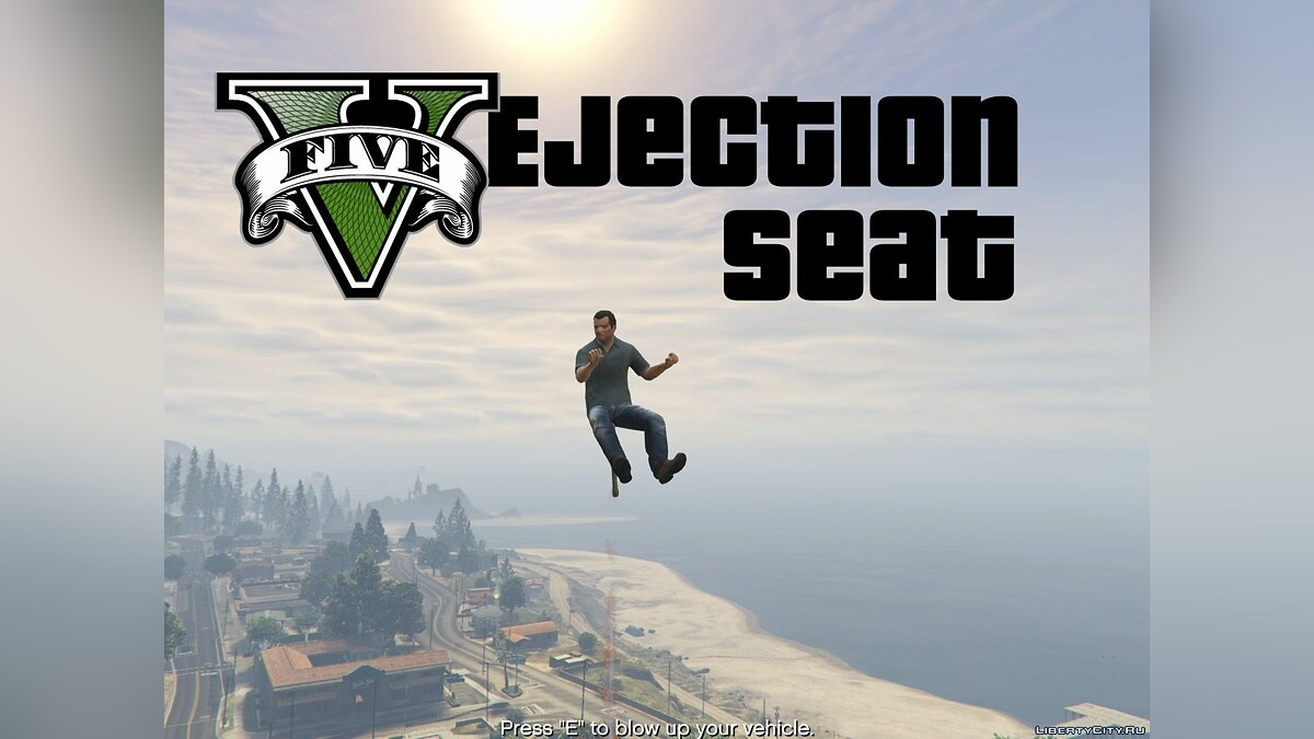 Ejection Seat [.NET] v0.1 для GTA 5 - Картинка #1