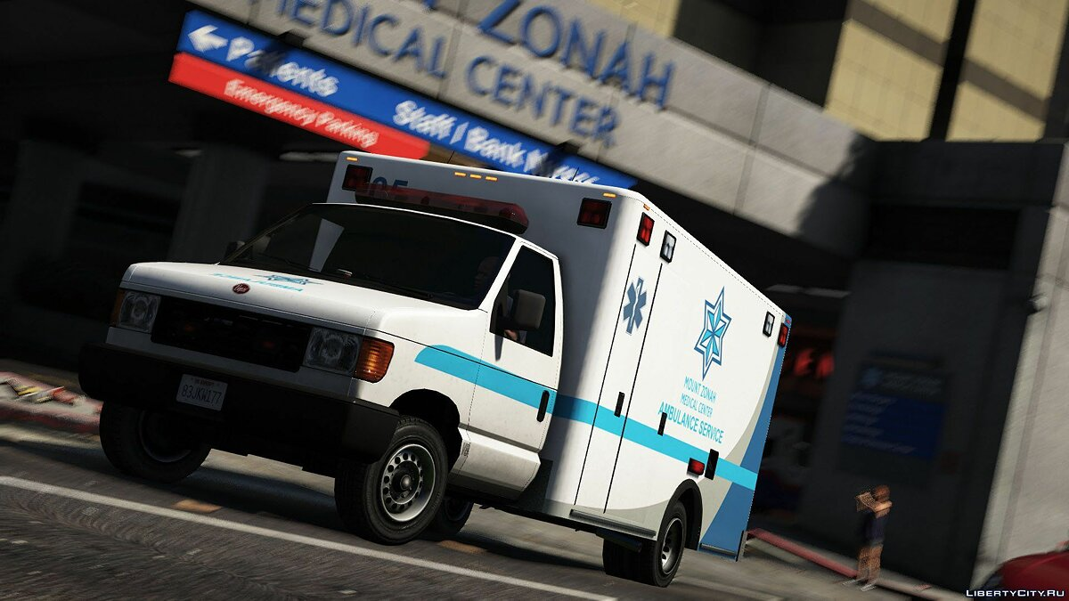 Машина Vapid Steed - Ambulance [Add-On | Liveries | Template] 1.0 для GTA 5