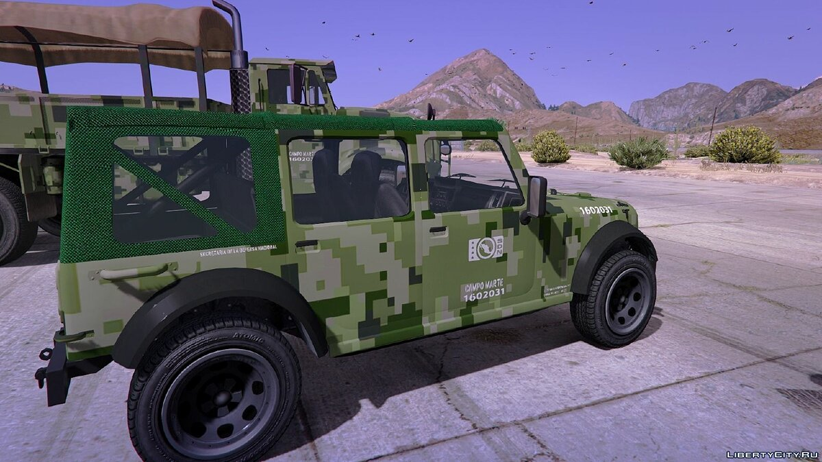Mexican Army Textures для GTA 5 - Картинка #1