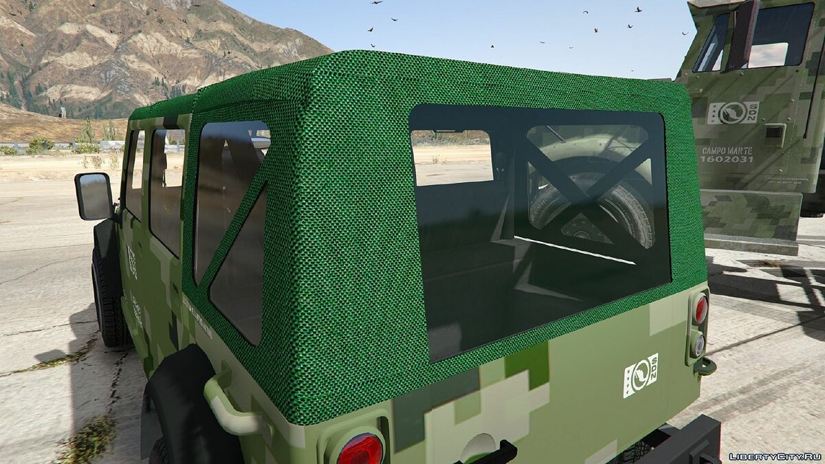 Mexican Army Textures для GTA 5 - Картинка #3