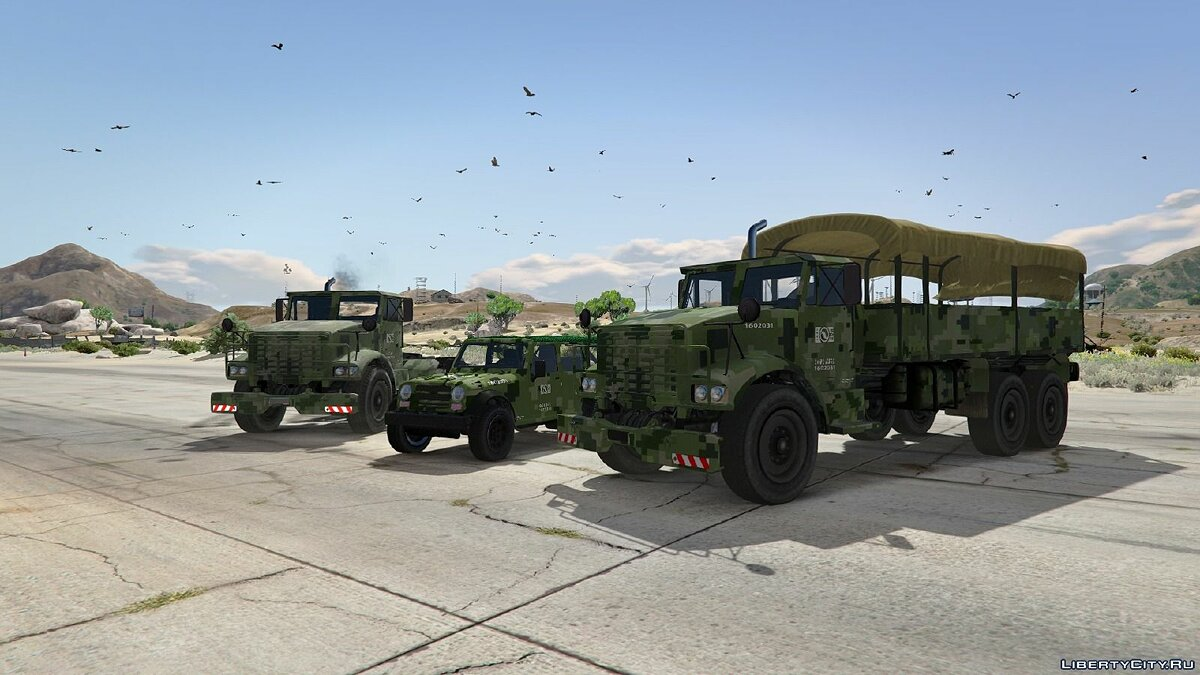Mexican Army Textures для GTA 5 - Картинка #4