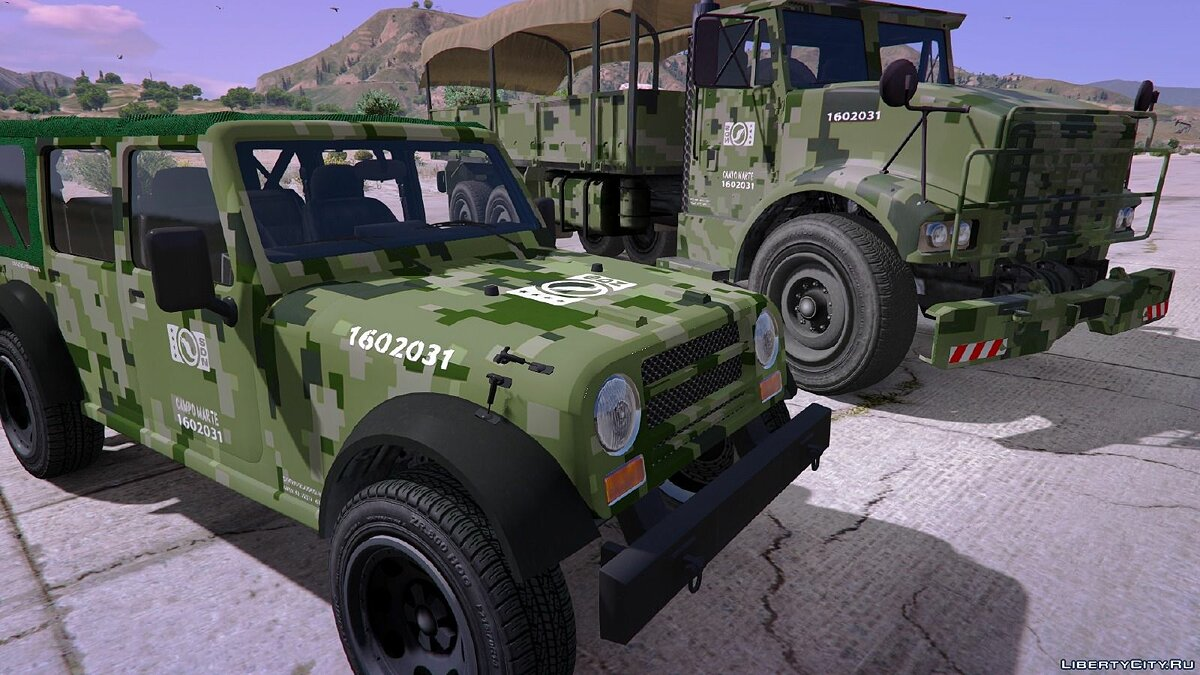 Mexican Army Textures для GTA 5 - Картинка #5