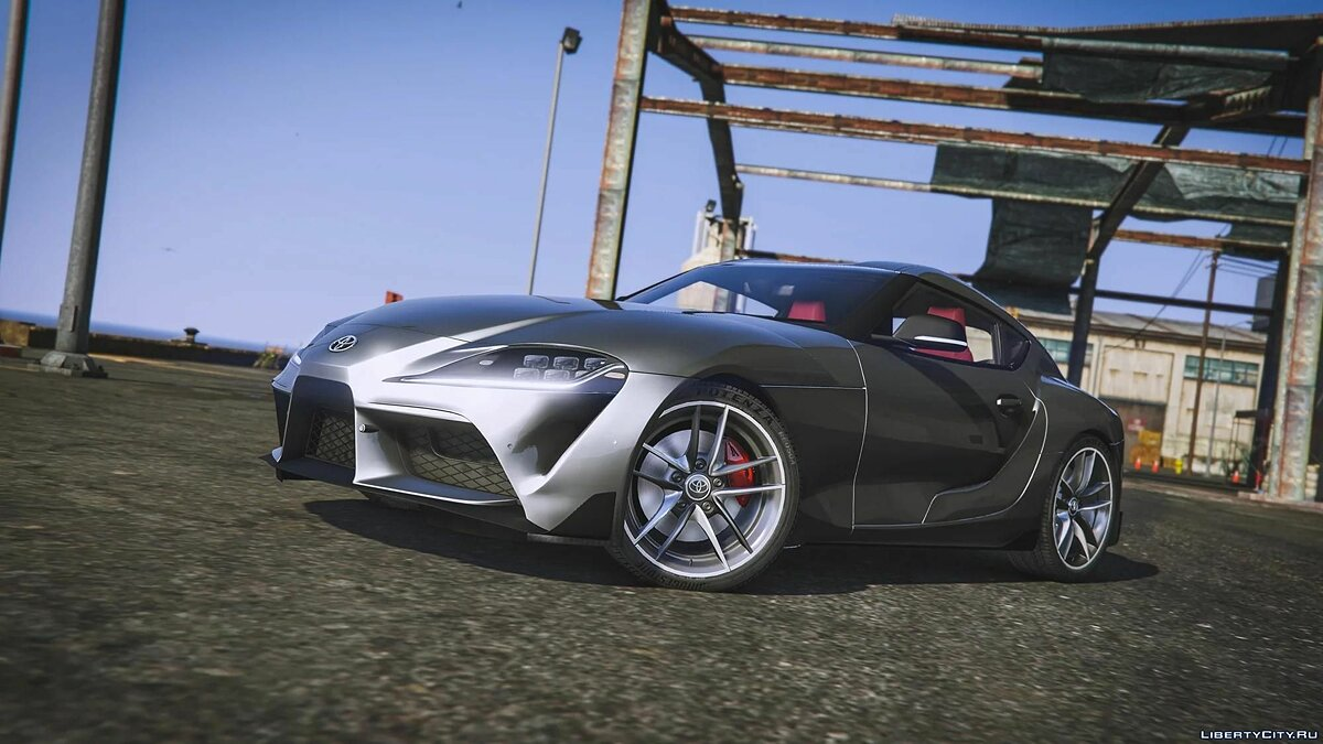 2019 Toyota Supra GR [Add-On / JP-Spec] 1.0 для GTA 5 - Картинка #1