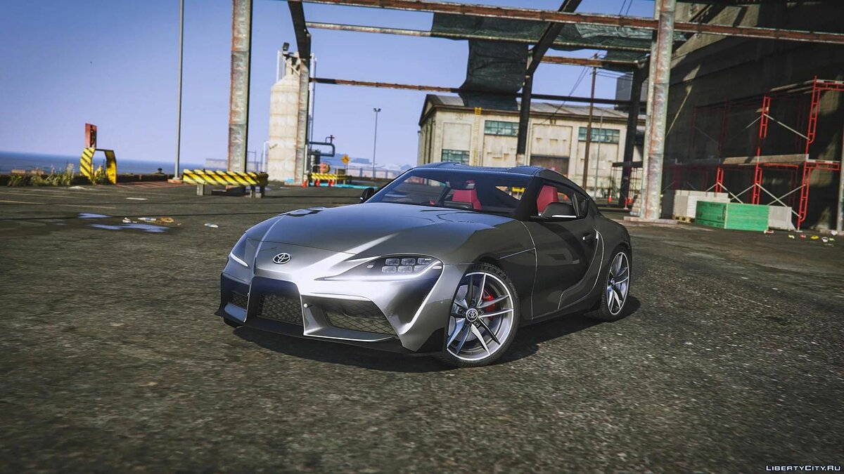 2019 Toyota Supra GR [Add-On / JP-Spec] 1.0 для GTA 5 - Картинка #4