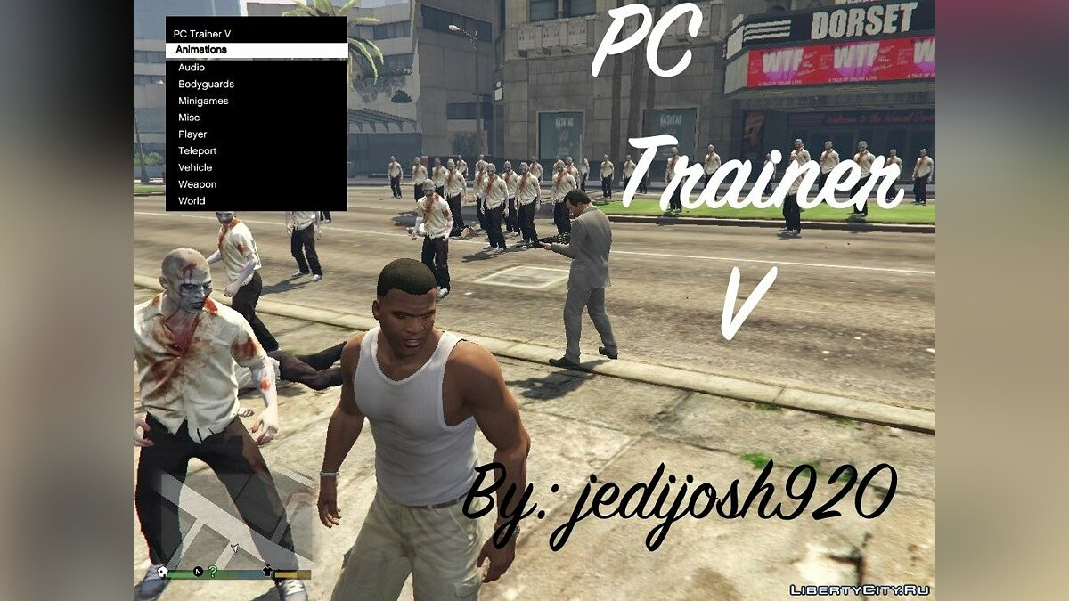 PC Trainer V Beta 7 для GTA 5 - Картинка #1