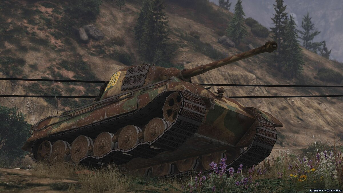 _engPz.Kpfw. VI Tiger II Ausf. B (H) (Add-On) 1.0 для GTA 5