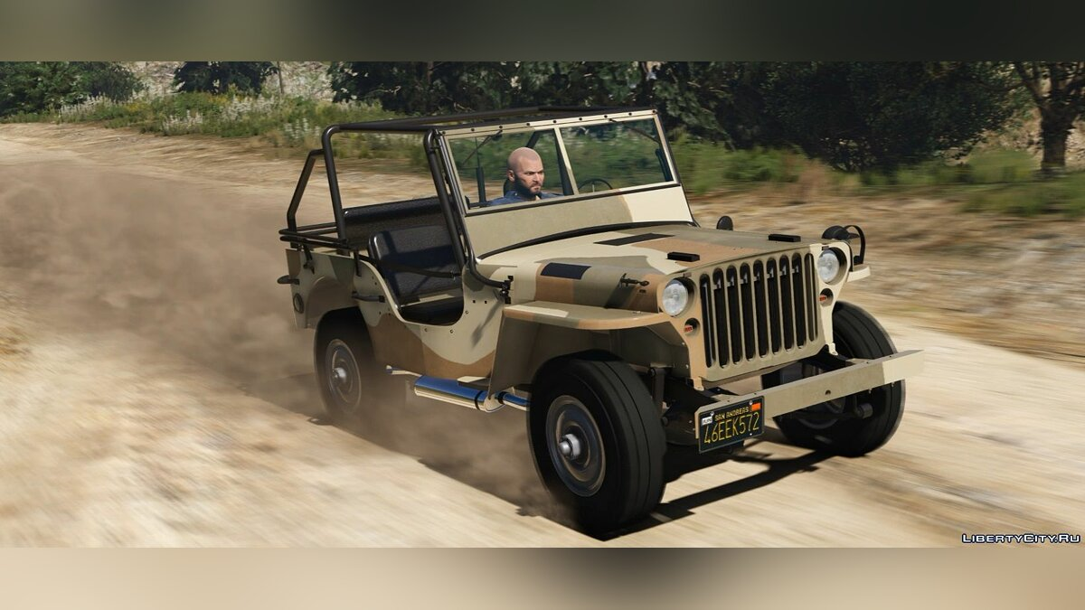 Jeep Willys MB [Add-On | Replace | Livery | Extras | Template] 1.2 для GTA 5