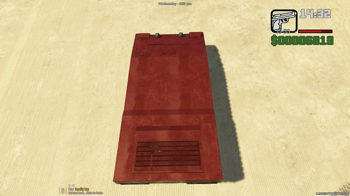 Civilian Rhino [Add-On] 1.0 для GTA 5 - скріншот #2