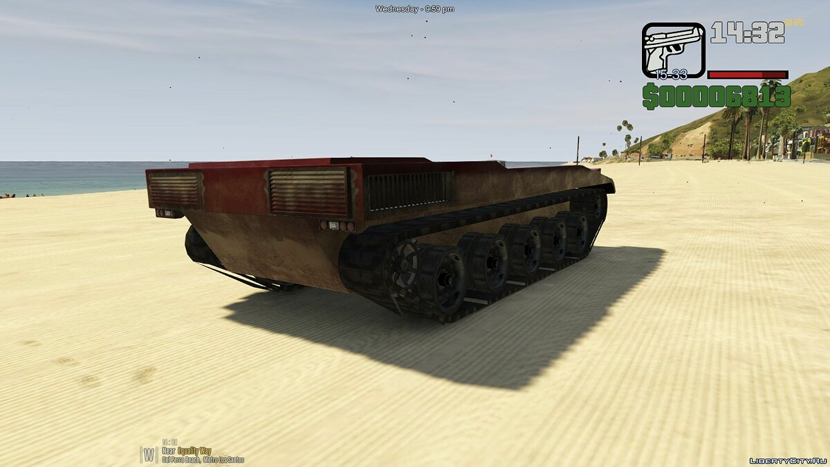 Civilian Rhino [Add-On] 1.0 для GTA 5 - скріншот #3