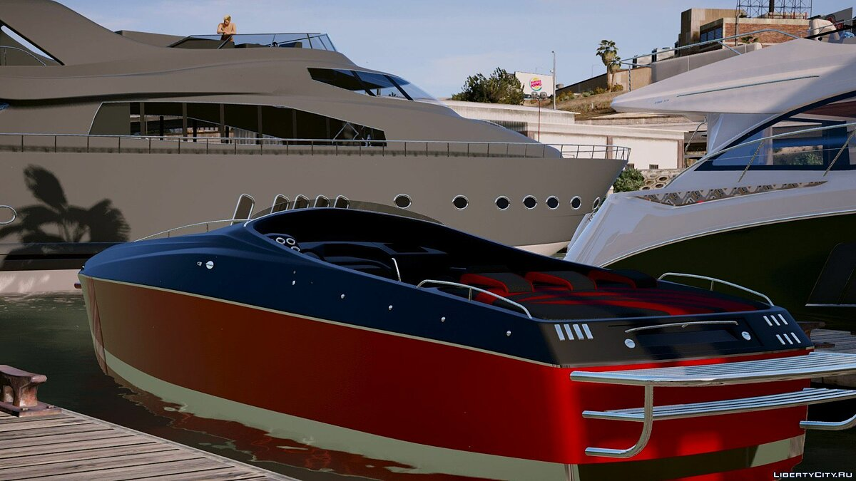 Go Fast boat [Add-on / Replace] 1.0 для GTA 5