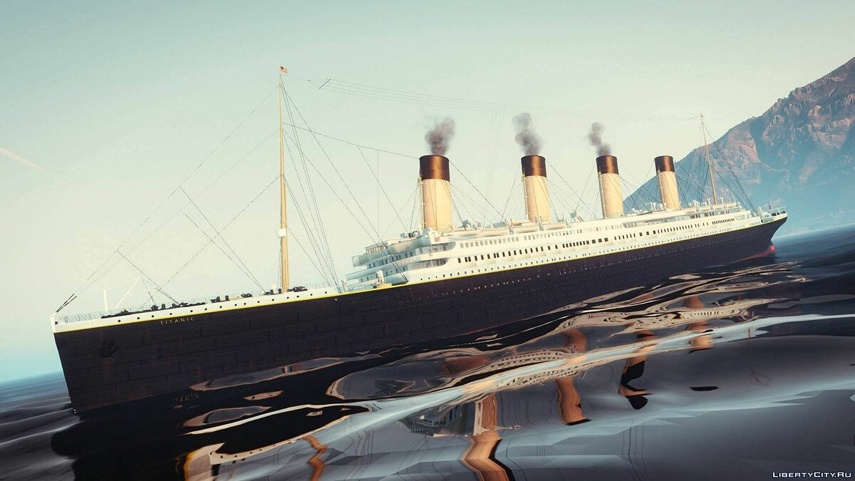 1912 RMS Titanic [HQ | Add-On] 5.0 для GTA 5