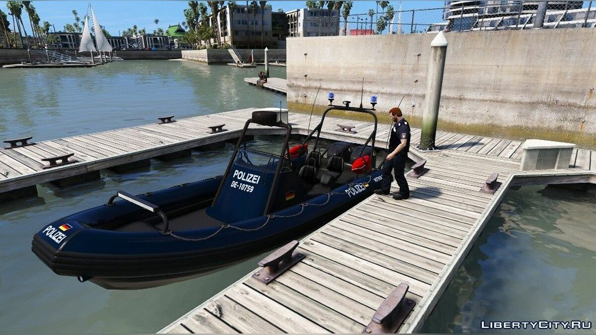 Wasserschutzpolizei Boot (Germany) [Non - ELS] 1.0 для GTA 5