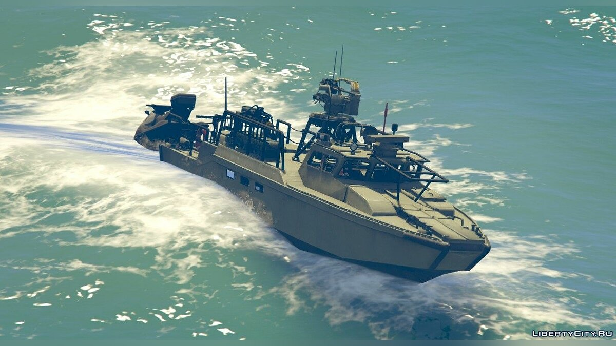 CB90-class fast assault craft [Add-on] 1.0 для GTA 5
