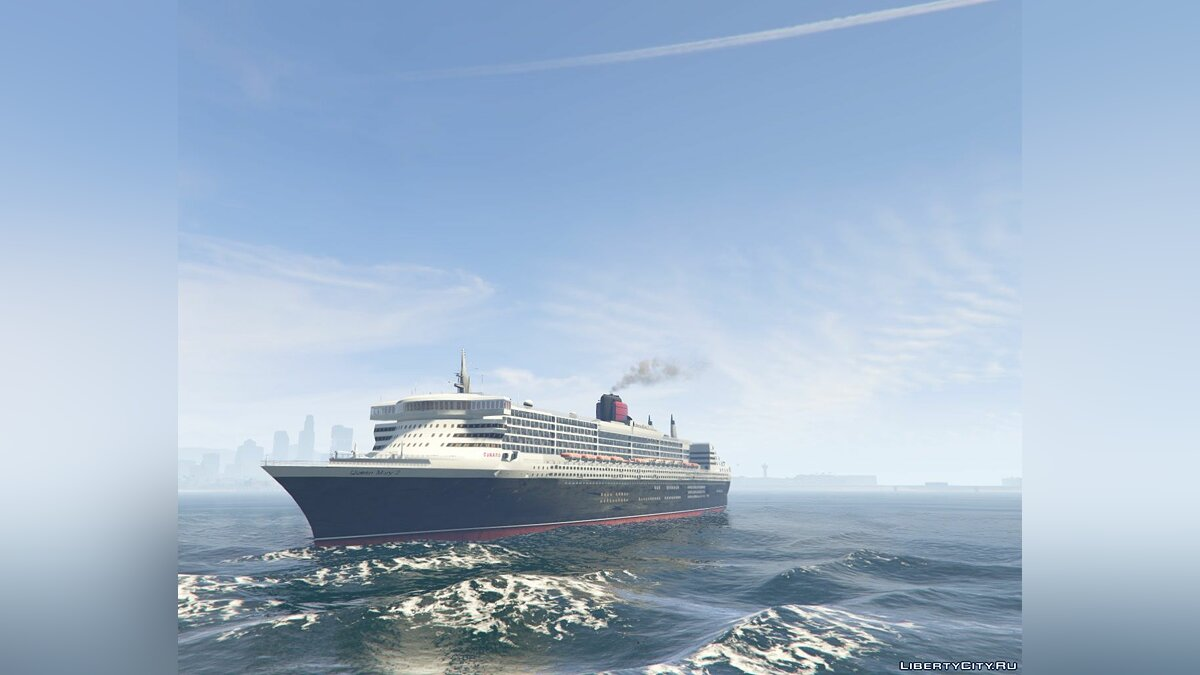 2003 RMS Queen Mary 2 Add-On для GTA 5