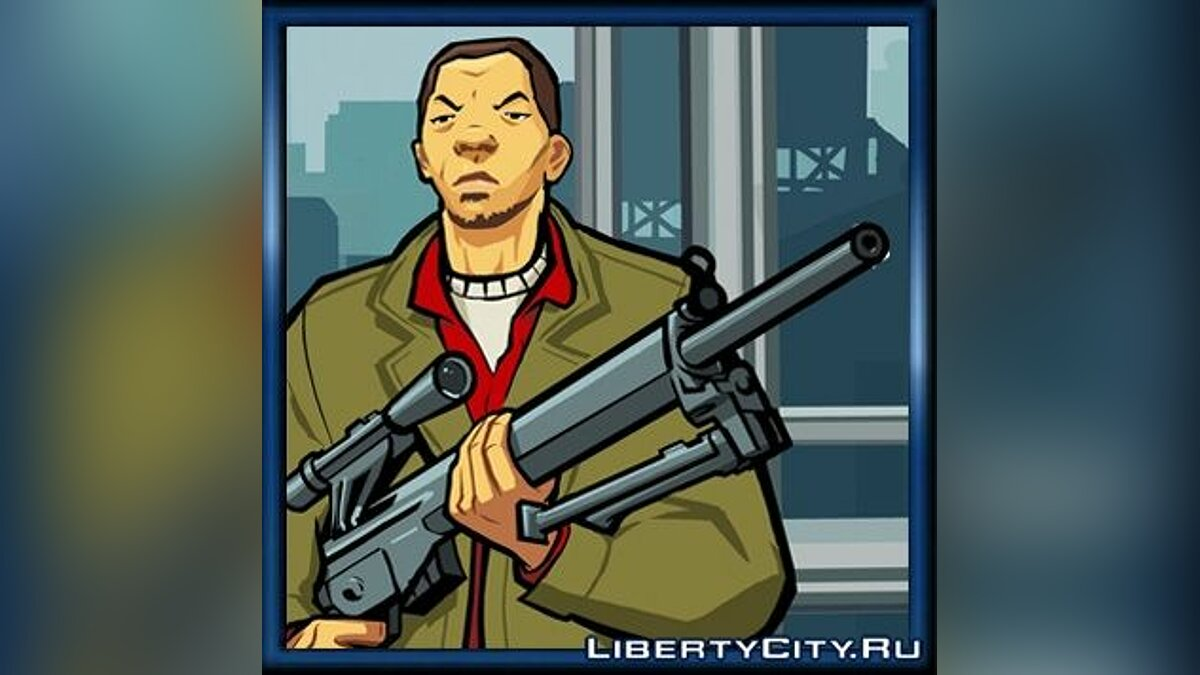 ��аперова модель Авторка в стилі GTA CW для GTA Chinatown Wars