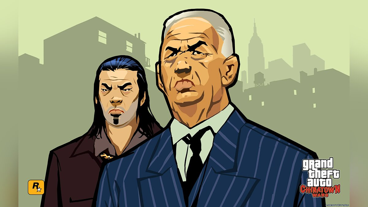 Рингтон Музична тема Хсін з Nintendo DS версії для GTA Chinatown Wars