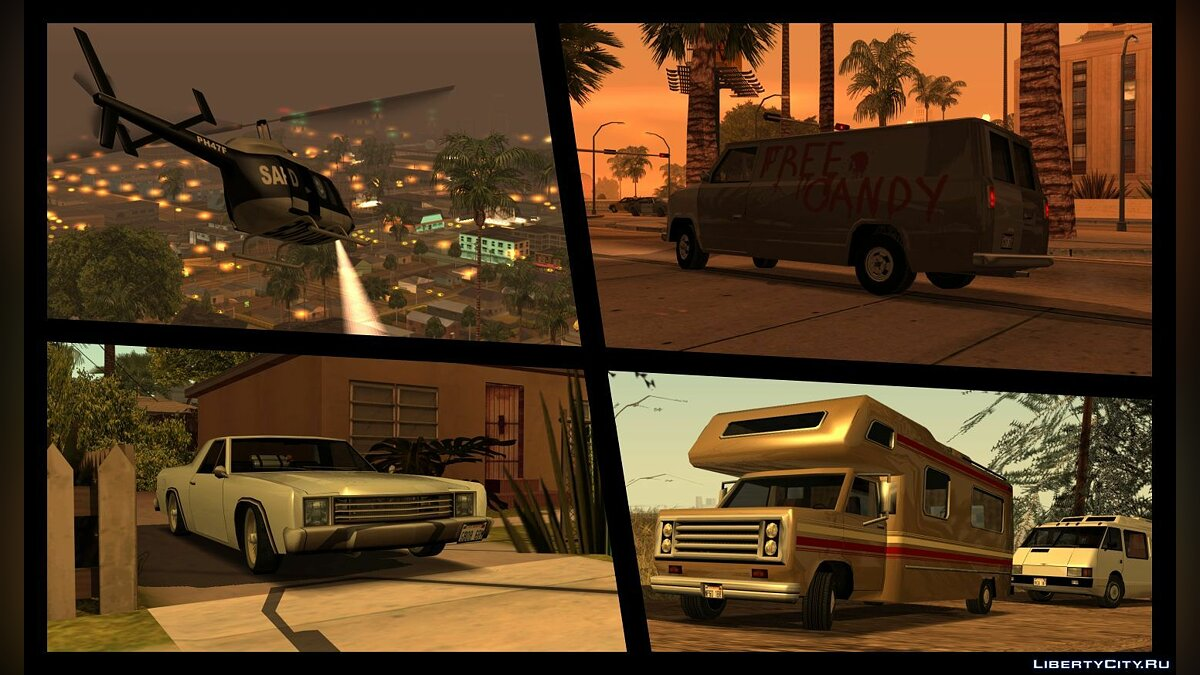 Extended Vanilla Vehicles Pack 1.0 для GTA San Andreas - Картинка #6