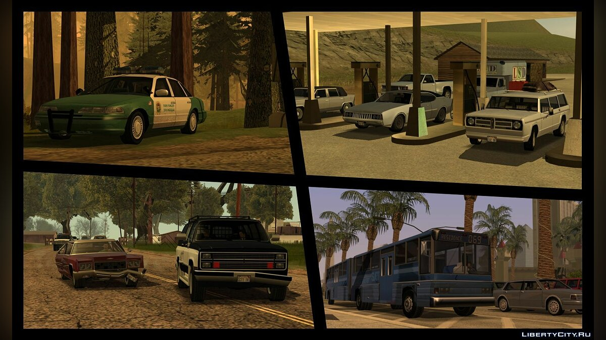 Extended Vanilla Vehicles Pack 1.0 для GTA San Andreas - Картинка #4