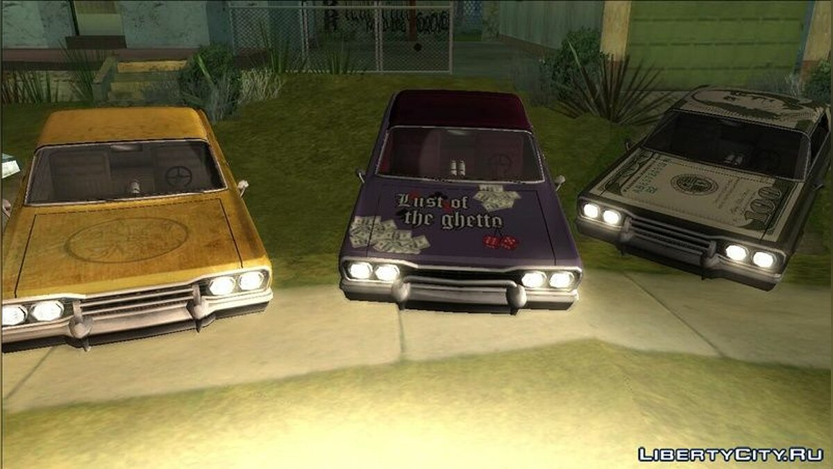 Текстура машини Savanna PaintJobs - Lust of the ghetto для GTA San Andreas