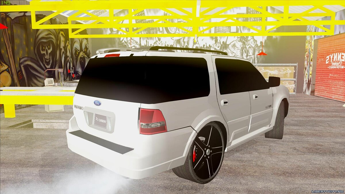 Машина Ford Ford Expedition Urban Rider Styling Kit by 3dCarbon 2008 для GTA San Andreas