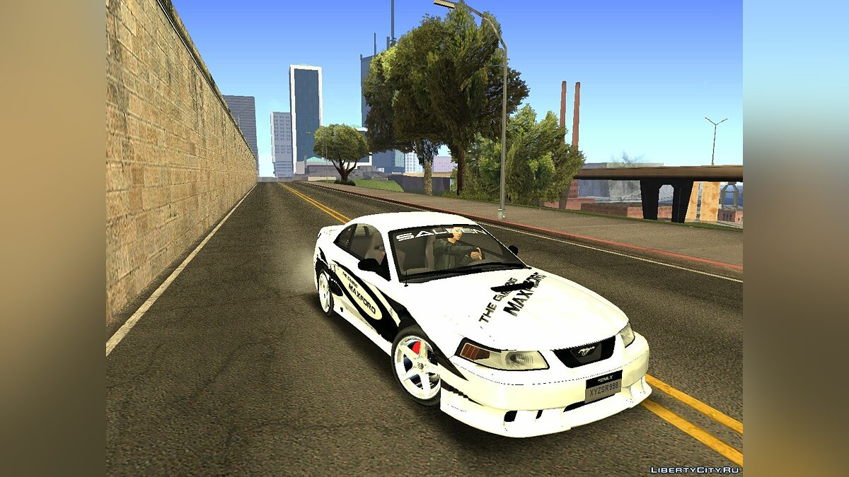 ��ашина Ford Ford Mustang Saleen 2000 IVF для GTA San Andreas