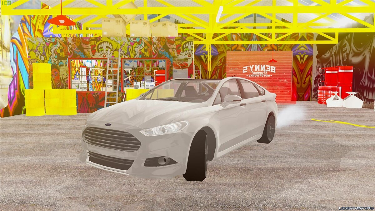 Машина Ford Ford Fusion Styling Package by 3dCarbon 2014 для GTA San Andreas