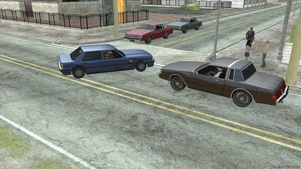 SRt3 2012 Mipmap Edition для GTA San Andreas