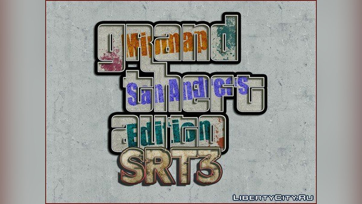 SRt3 2012 Mipmap Edition для GTA San Andreas - скріншот #2