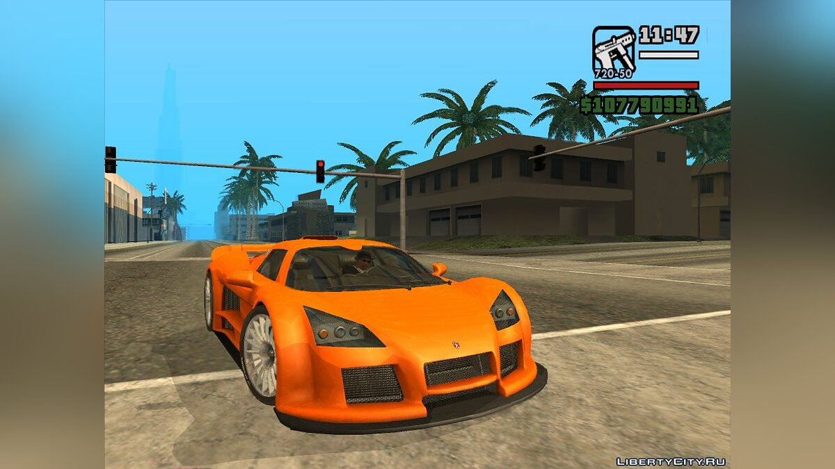 ��ашина Gumpert Gumpert Apollo для GTA San Andreas