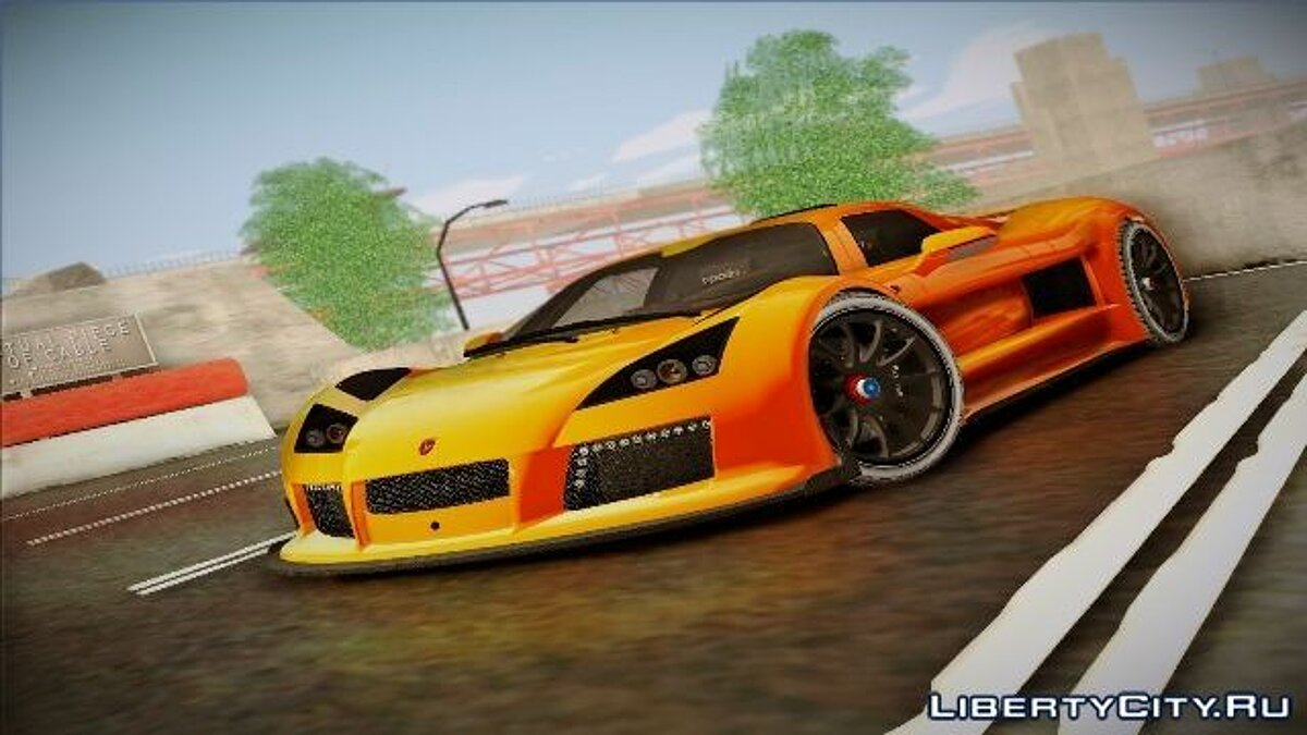 ��ашина Gumpert Gumpert Apollo S 2012 для GTA San Andreas