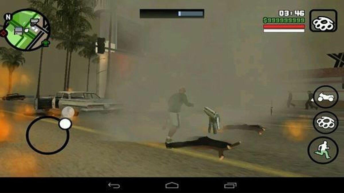 Tornado Mod For Android для GTA San Andreas (iOS, Android)