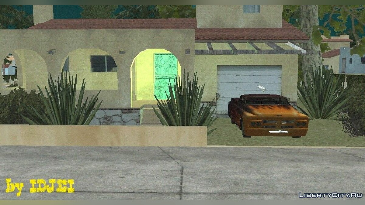 Таємний будинок CJ для GTA San Andreas (iOS, Android)