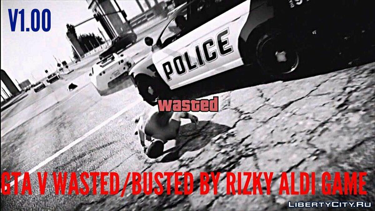 GTA V Wasted / Busted Screen For Android для GTA San Andreas (iOS, Android)