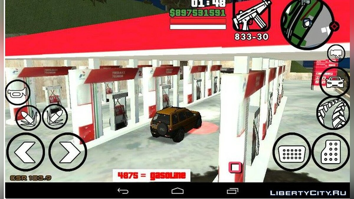 Gasoline For Android для GTA San Andreas (iOS, Android) - Картинка #1