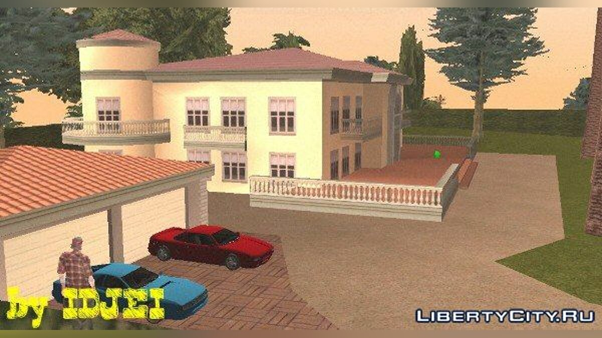 Вілла CJ на ВВ. 1.0 (Beta) для GTA San Andreas (iOS, Android)
