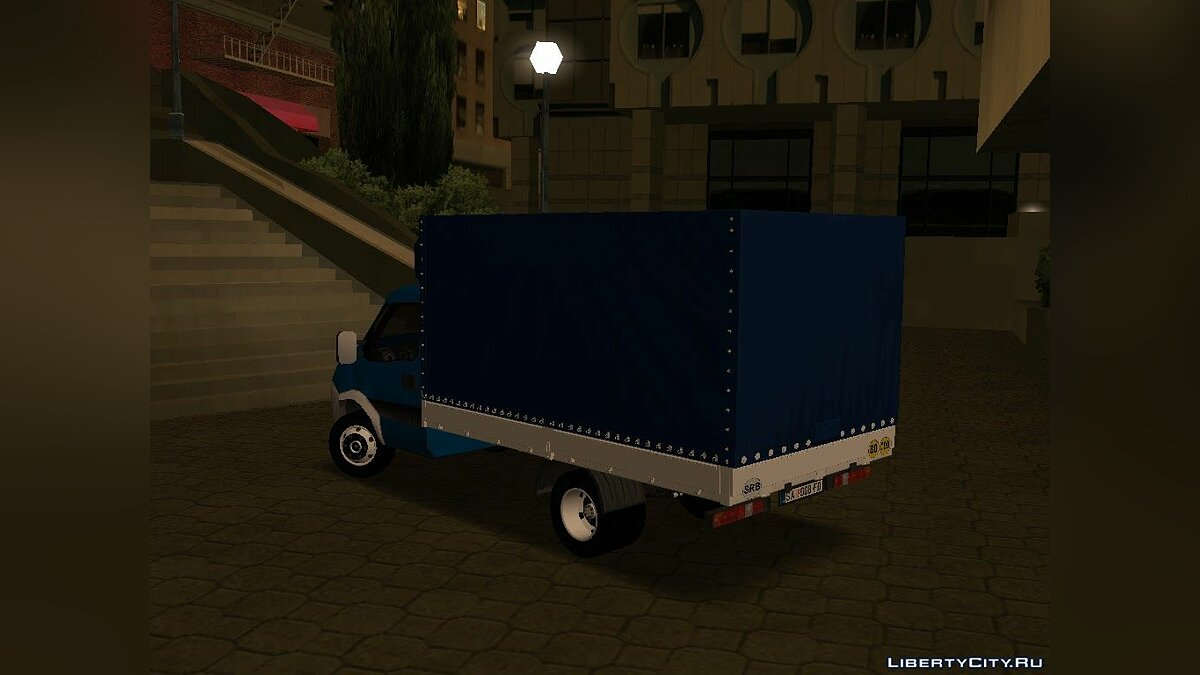 ��ашина Iveco Iveco Daily Mk4 35T для GTA San Andreas